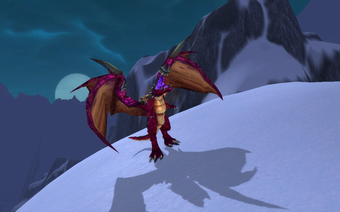 Here be (rideable violet) dragons